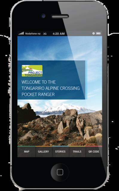 Pocket Ranger  The smartphone APP guide to the Tongariro Alpine Crossing.