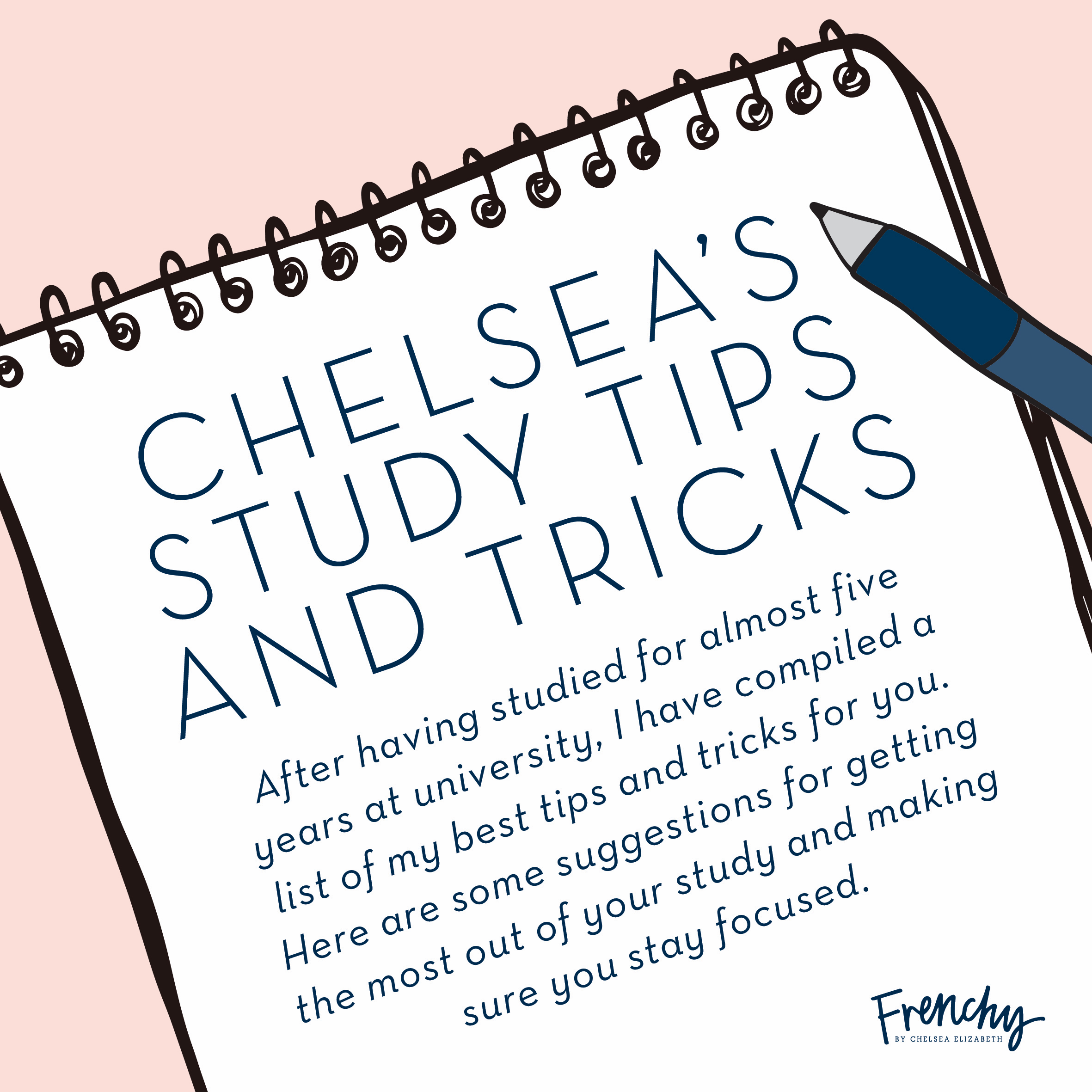 WANT TO SUCCEED WITH YOUR STUDIES? - Get access to 10 of my best study tips and tricks, with my free poster!
