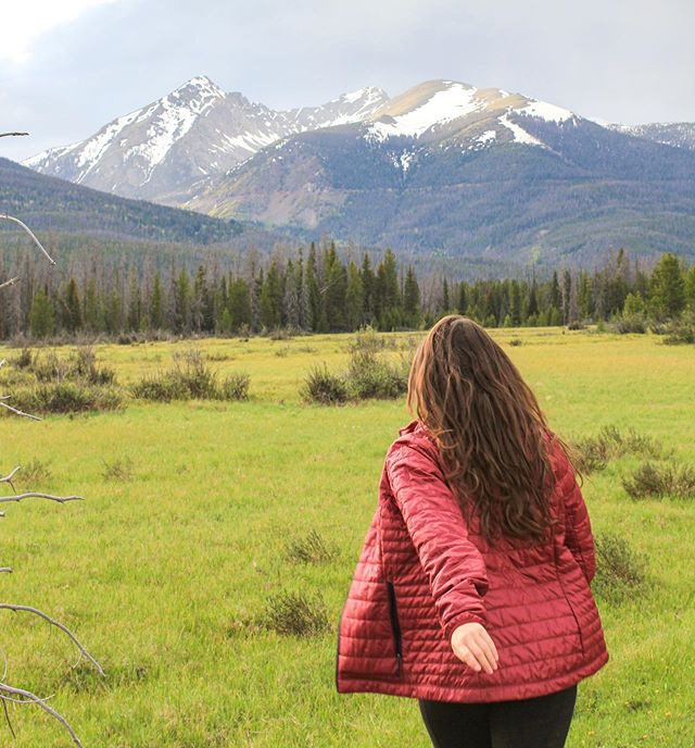 Happy official first day of summer! Here's to a summer filled with beautiful green meadows, nights under the Milky Way, fields of wildflowers, ice cold alpine lakes and a summer of hiking through snow.