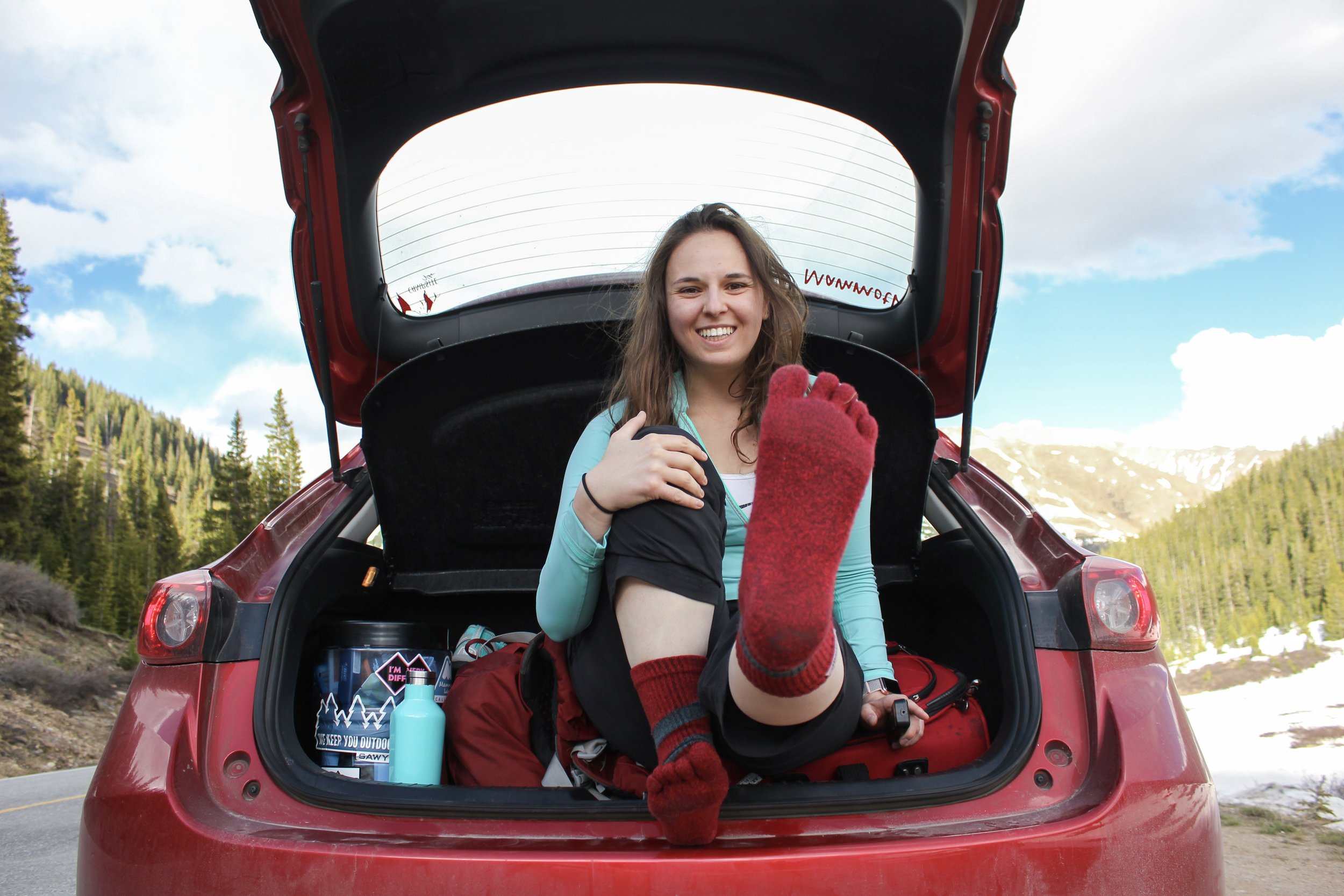 Injinji wool toe socks