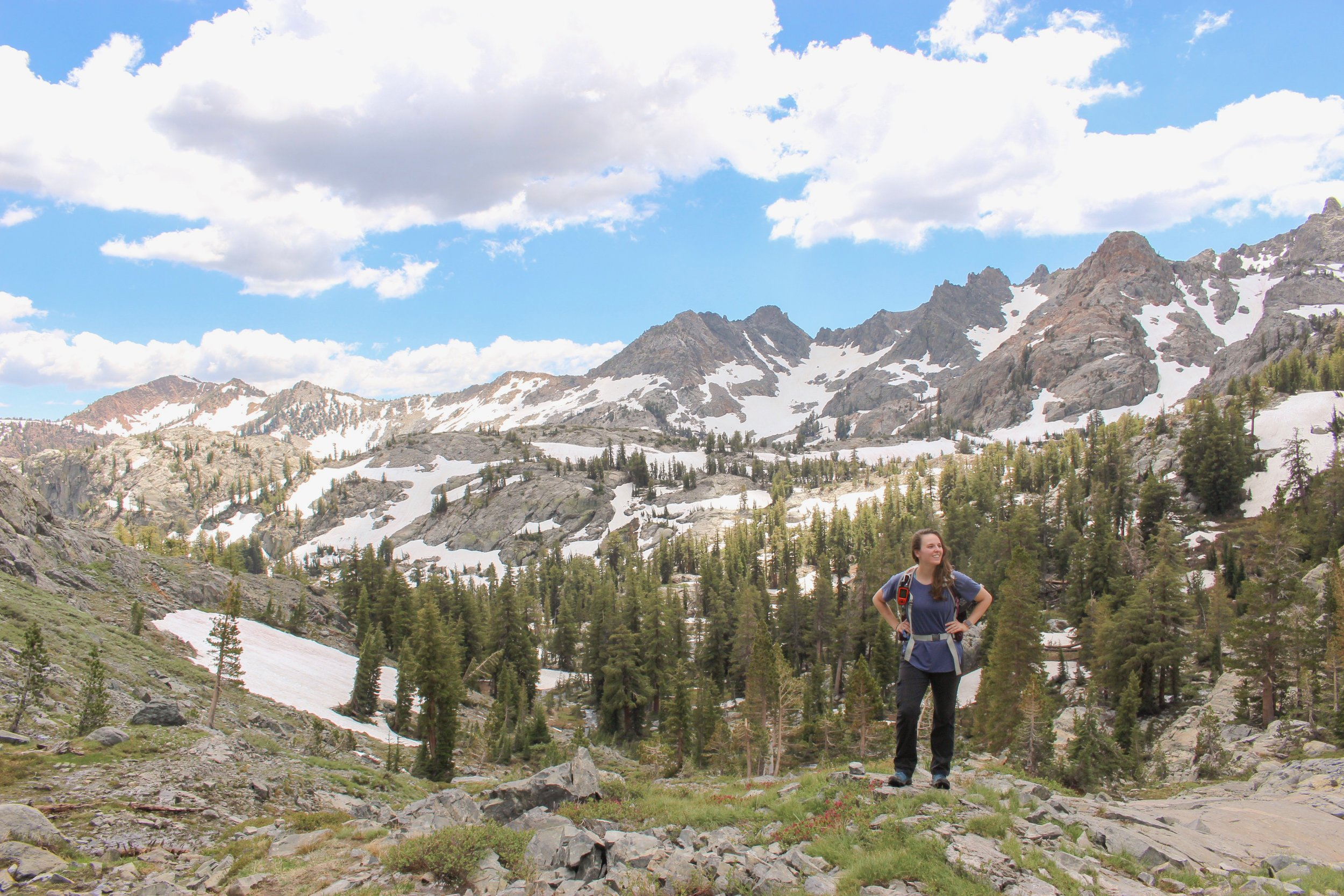trail to minaret lake
