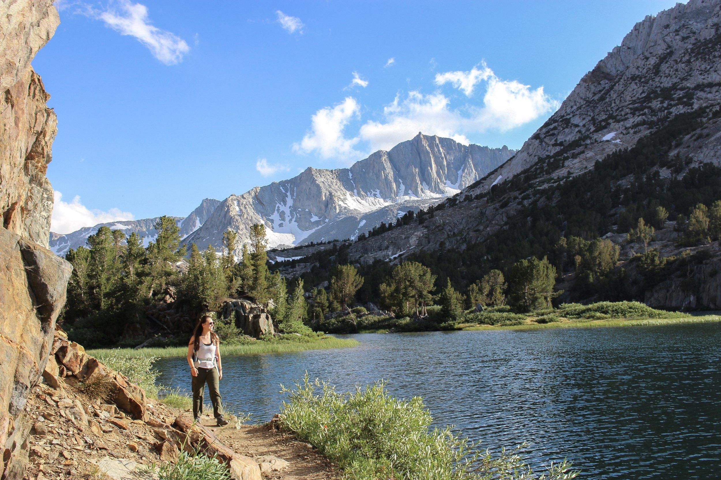 Hiking to Long Lake in Bishop.JPG