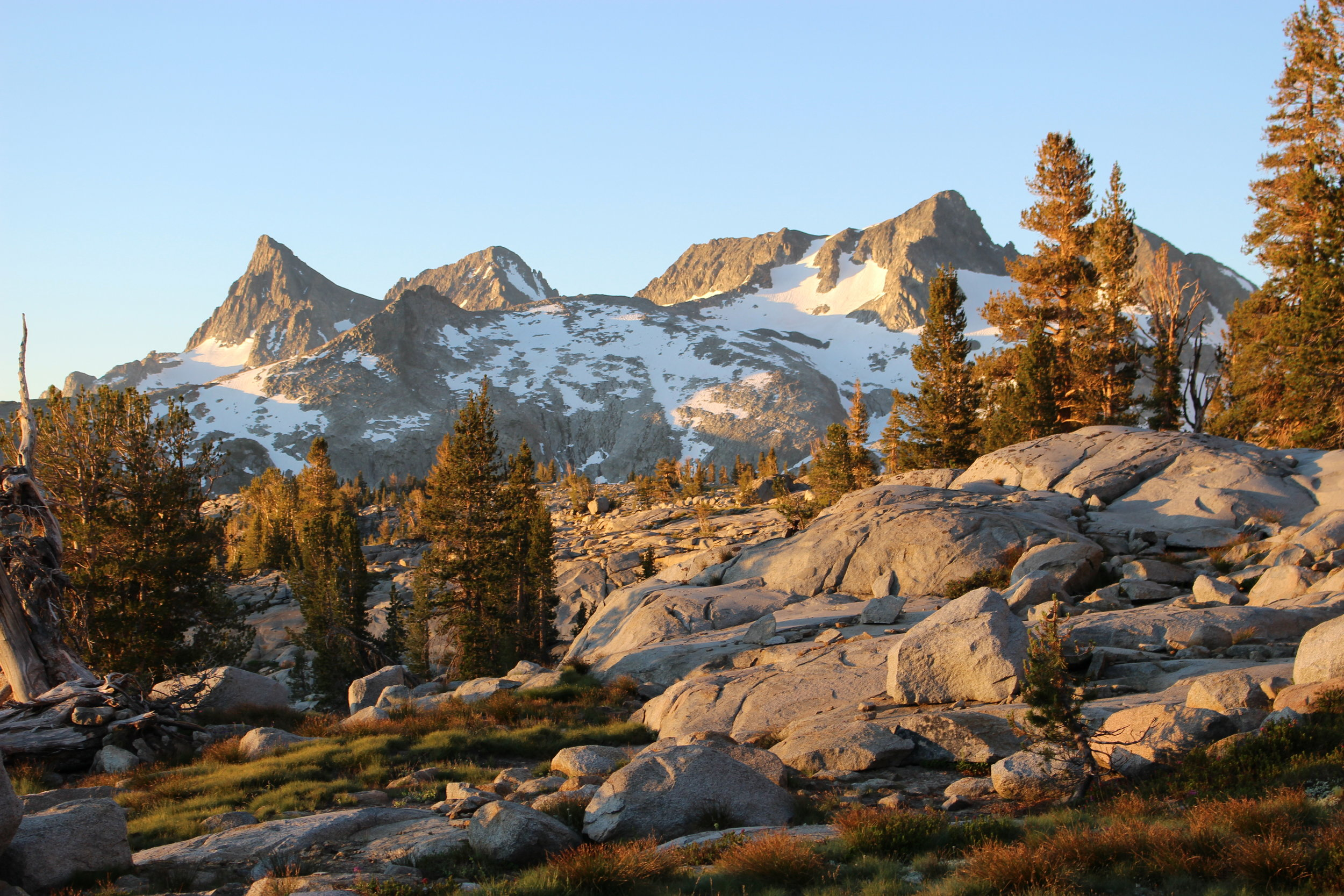 Sunrise John Muir Trail