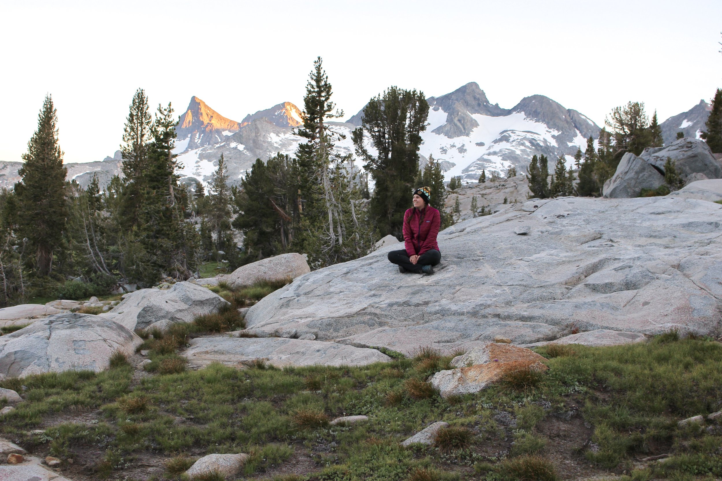Sunset John Muir Trail
