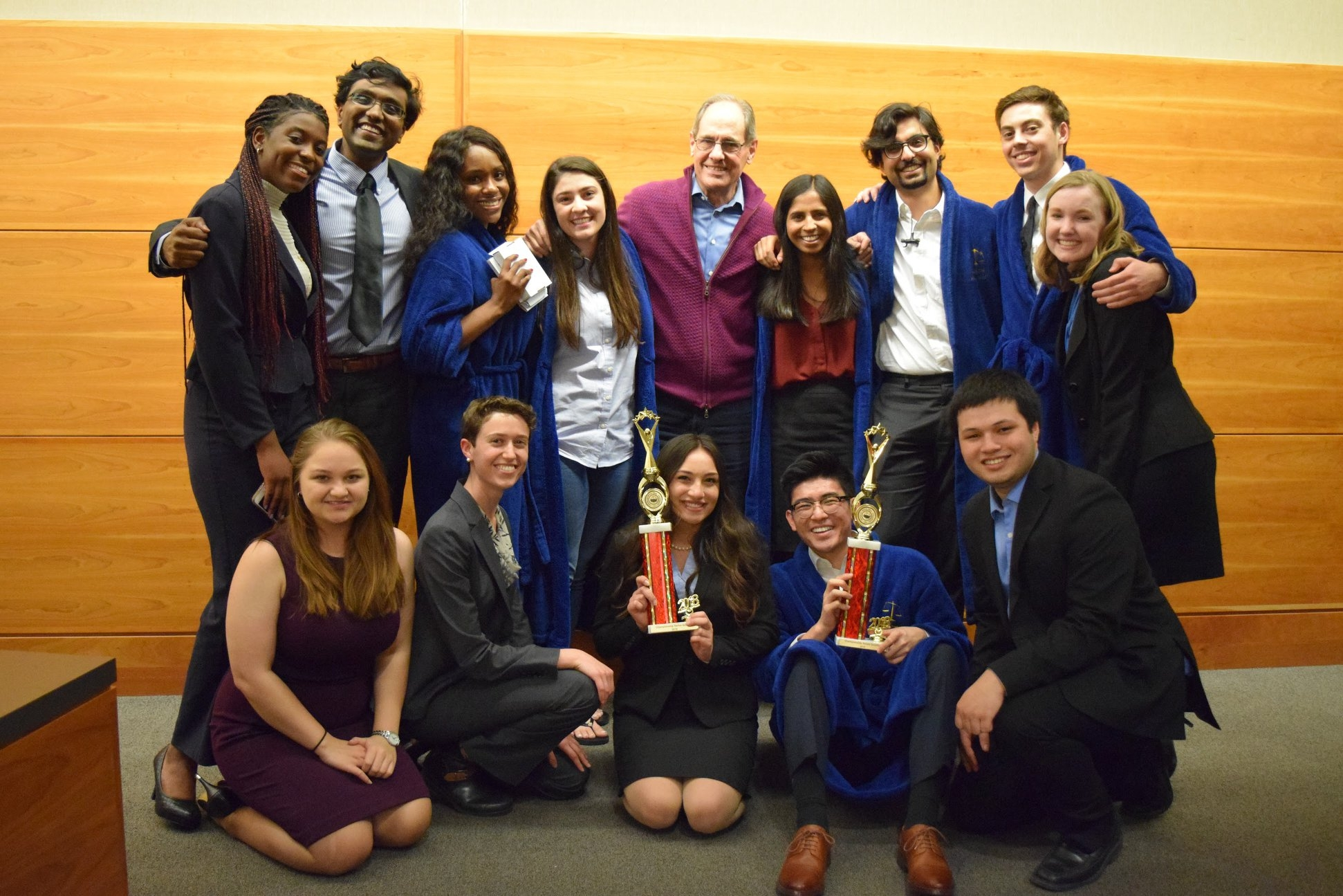 Seattle Regionals (2/10 - 2/11) - 2 bids to ORCS as the Golden Bears win it all! Berkeley A and C Blue won 1st and 2nd place, respectively at the Seattle Regional Tournament, one of our favorite tournament venues! A team swept the tournament with a record of 8-0 and C Blue earned a record of 6-1-1. On top of all that, A Team won Honorable Mention for the Spirit of AMTA, recognizing our true sportsmanship in mock trial. And don't forget about our individual award winners! Give it up for...Key'Toya Burrell, All-Regional Witness with 17/20 ranksKey'Toya Burrell, All-Regional Attorney with 19/20 ranksSmita Balaji, All-Regional Attorney with 19/20 ranksThanks to the University of Washington for a great experience!