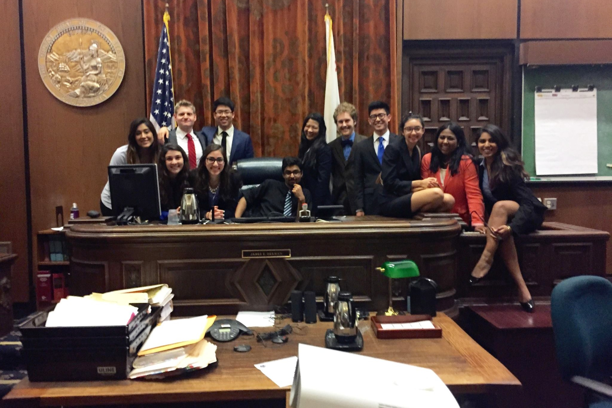 Paradise Invitational (1/10 - 1/11) - CMT kicks off the spring season with a 3rd place finish at the Paradise Invitational in Santa Barbara, California! In addition, the Golden Bears dominated the individual awards:Kevin Gu, Outstanding Attorney with 18/20 ranksRachel Thomasson, Outstanding Witness with 16/20 ranksJustin Tsung, Outstanding Witness with 17/20 ranks; his first mock trial career award!Nisha Srinivasa, Outstanding Witness with 19/20 ranksCongratulations to Kevin Gu, Nisha Srinivasa, Justin Tsung, and Marshall Lodge for earning honors as top two-way competitors.