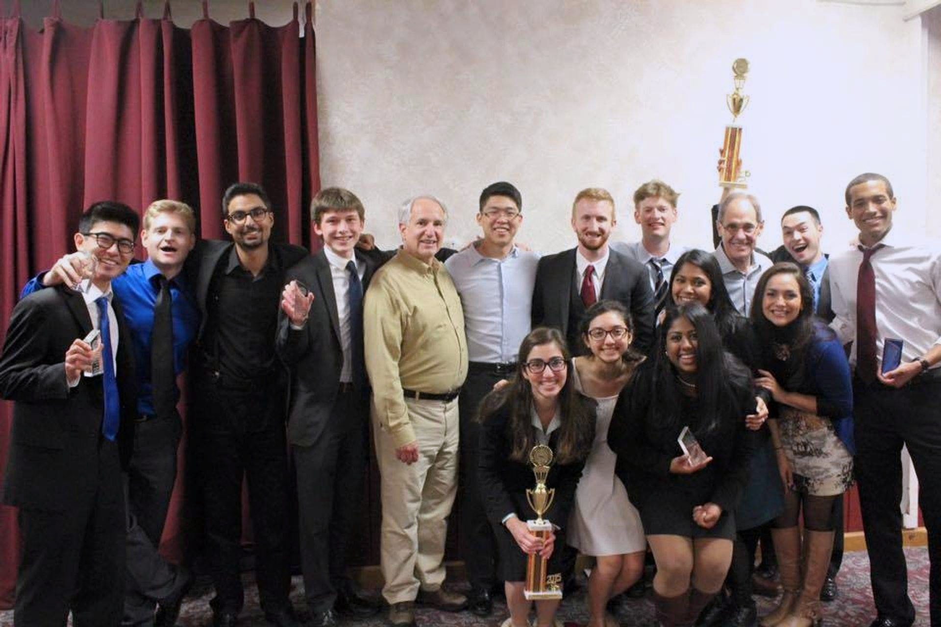 Anoka ORCS (3/13 - 3/15) - TWO GOOD TO BE TRUE! After a great weekend of competition, California Mock Trial qualified TWO teams to the American Mock Trial Association's National Championship Tournament in April! Next up: Cincinnati, Ohio! In addition, the Golden Bears swept in the individual category, taking home a total of 6 awards:Justin Tsung, Outstanding Witness with 16/20 ranksRadhika Kannan, All-National Witness with 16/20 ranksVaughn Okerlund, All-National Witness with 17/20 ranksNisha Srinivasa, All-National Witness with 17/20 ranksJaycob Rousey, All-National Attorney with 17/20 ranksBrandon Thomas, All-National Attorney with 18/20 ranks