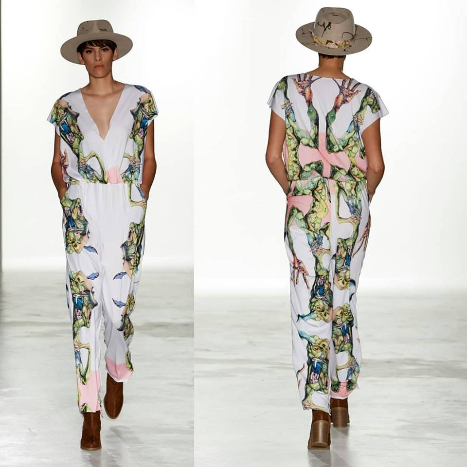 Photographer: Ricardo Mejia  @ricardomejia_dot_com   Hat Designer: Encounter Hat Company  @encounterhatco   Print/art : Wayland Chu @comacat  Designer: Julia Rhoden Designs  @juliarhodendesign