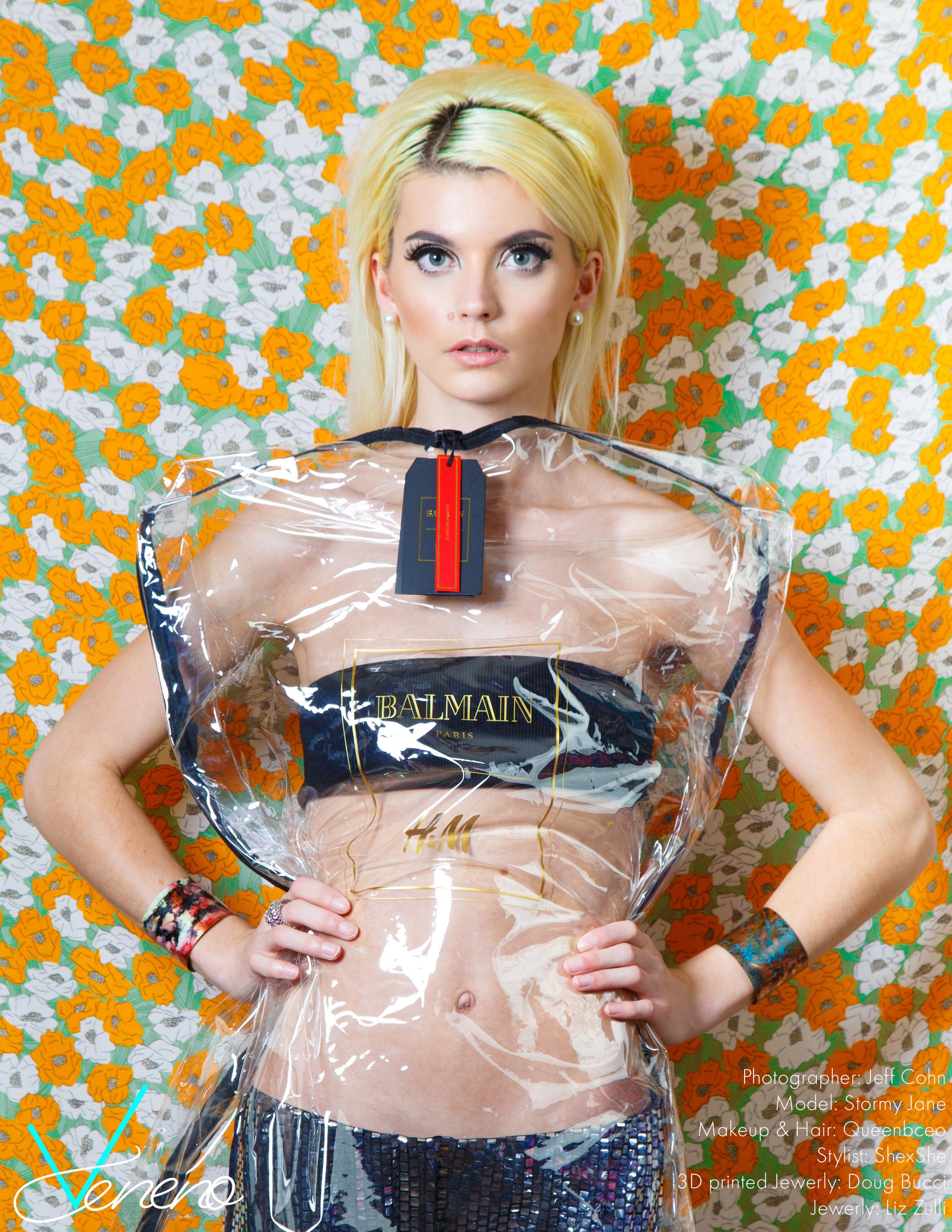 Balmain H&M Dress bag