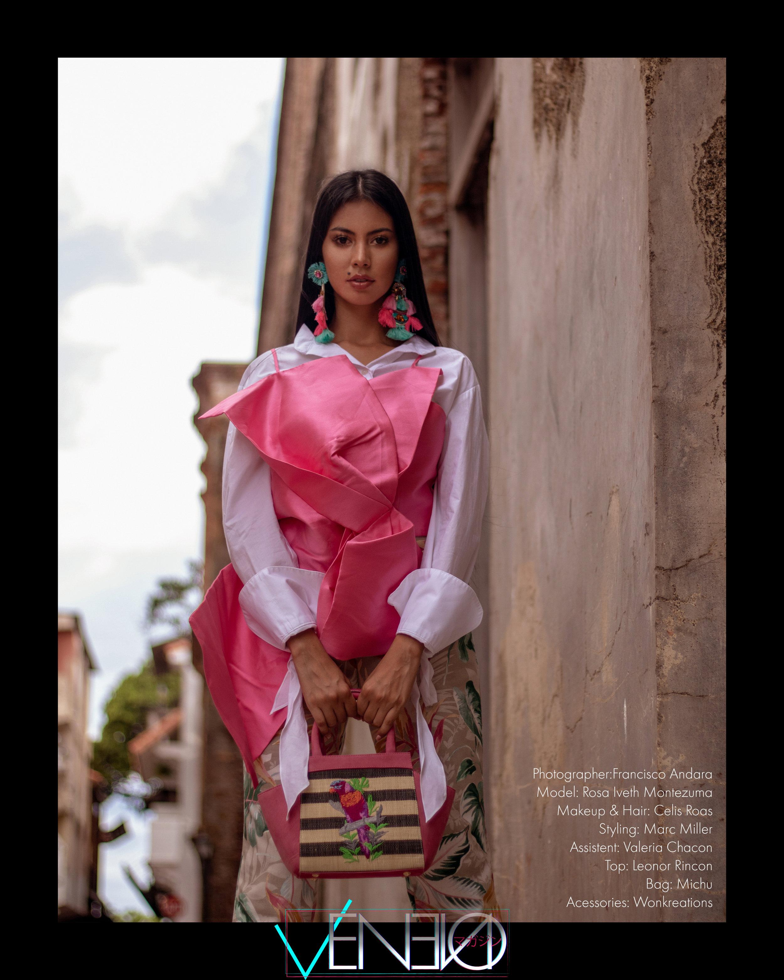Top: Leonor Rincon  @leonorrincon  Bag: michu  @michubags  Accessories: Wonkreations  @wonkreations  Shoes: Vizzano  @vizzano_oficial