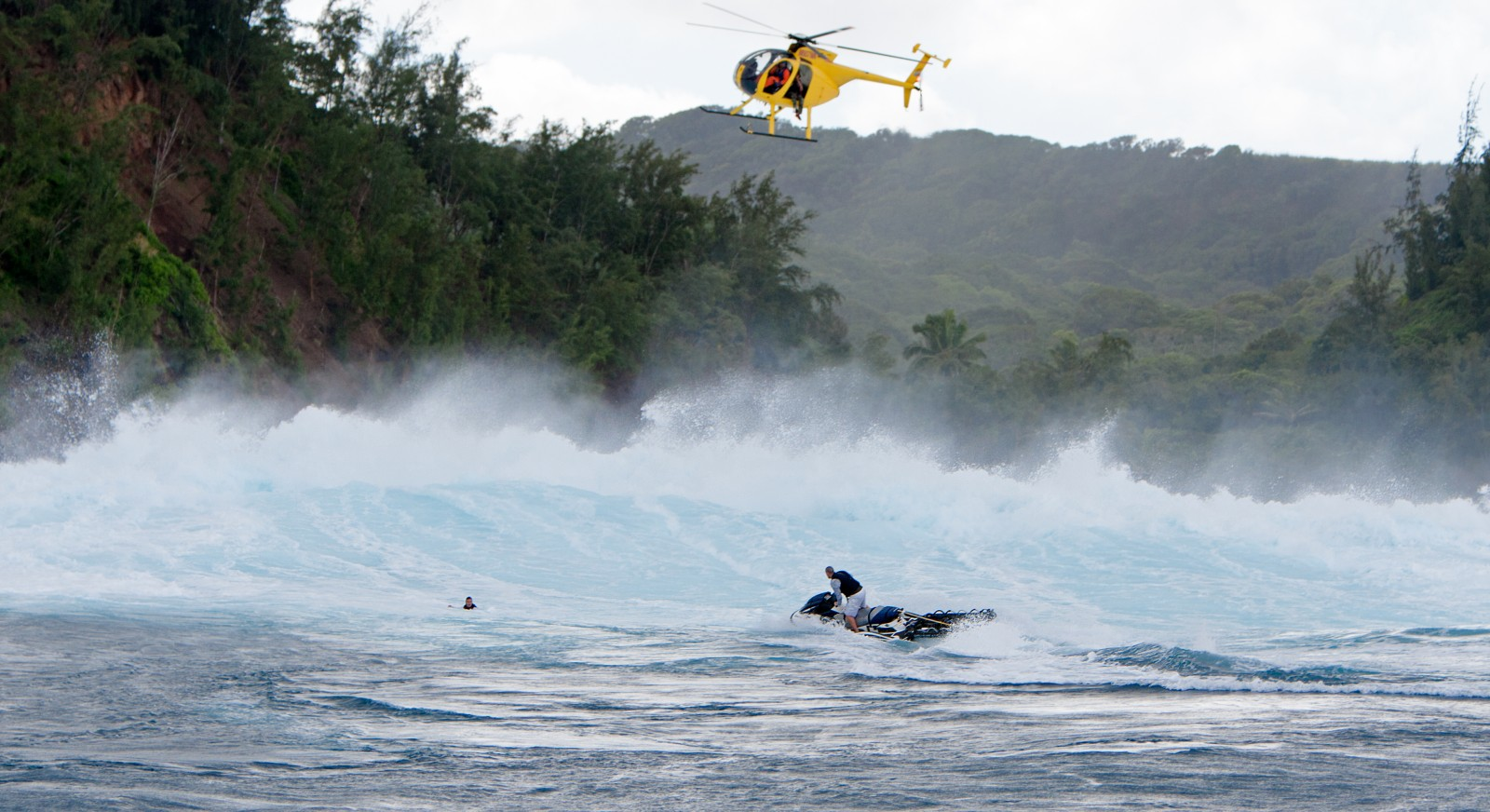 Find a rescue course for big wave surfers. -