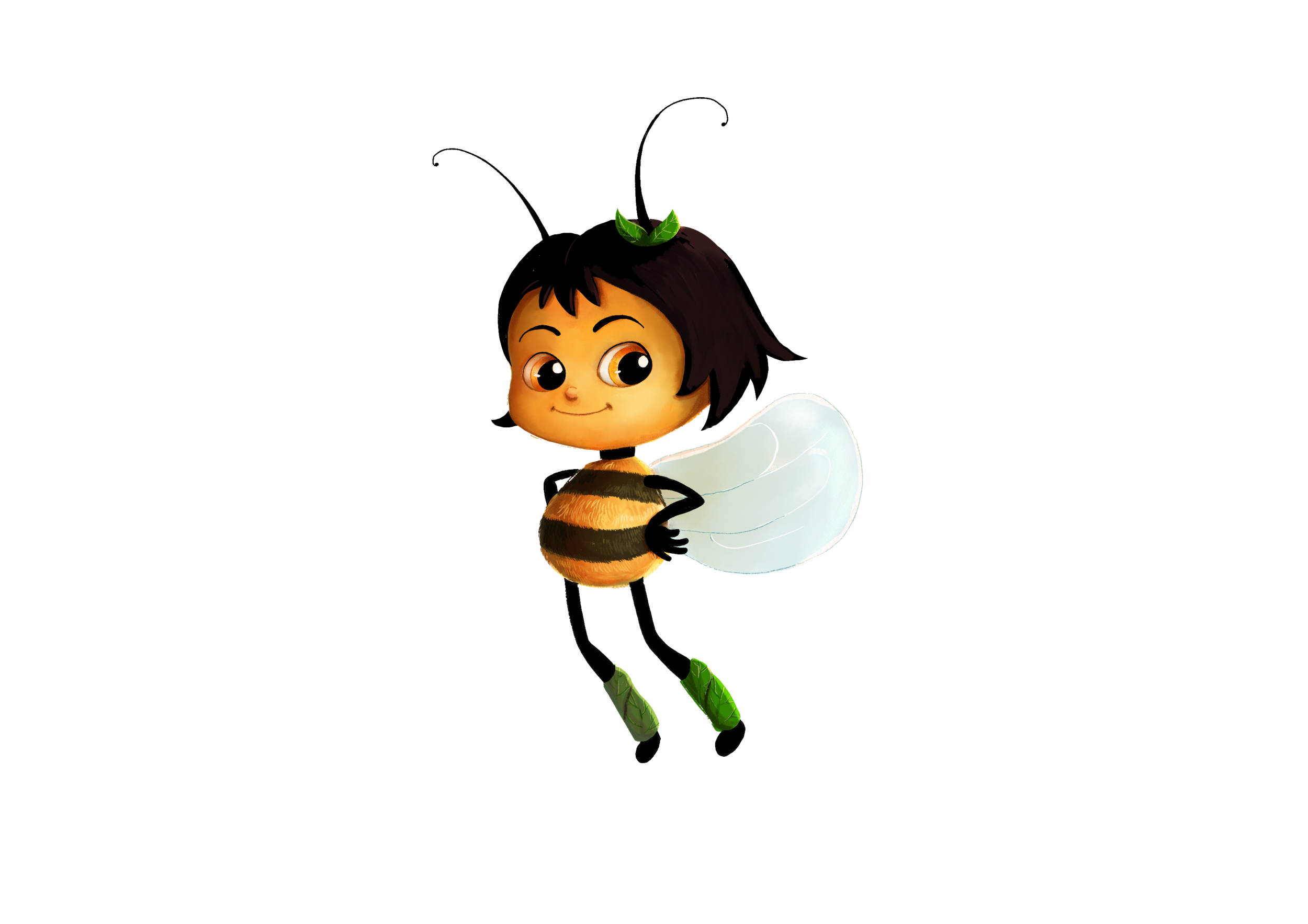 Emily the One Winged Bee