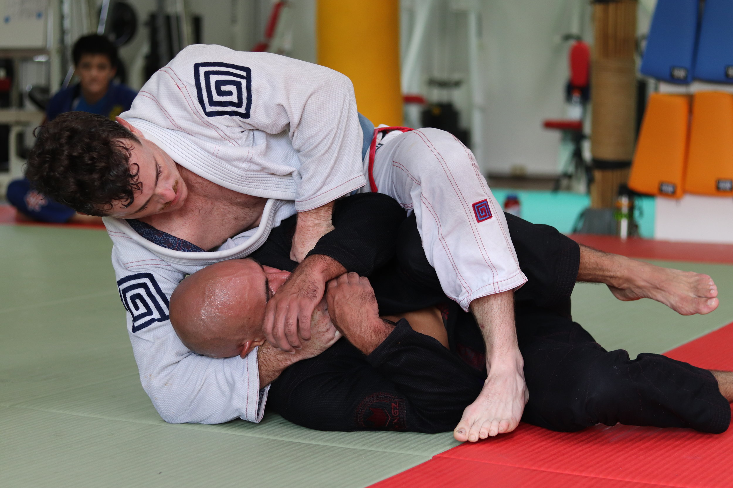 Brazilian Jiu-Jitsu is a hard martial art with a high attrition rate. Much of your success as a school is getting to the people more likely to stick it out before your competitors.