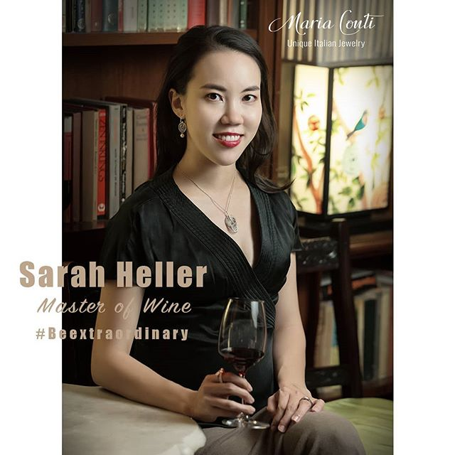 Sarah Heller is an extraordinary woman! #beextraordinary #italianpassion #italianjewelry #beunique #italiandesign #italianwine