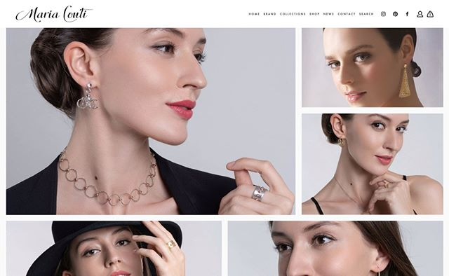 Our NEW website is now LIVE!! As a welcome gift and for a limited time, you can enjoy a 10 % discount on your first online order when you subscribe to our mailing list!  Visit our new website now and let us know what you feel!  www.mariacontijewelry.com  #beextraordinary #modernwoman #jewelry #madeinitaly