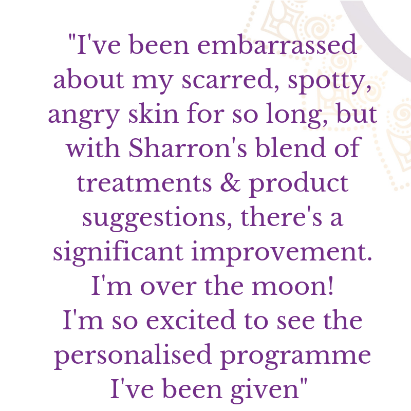 Acne Scaring - Life long acne scaring isn't necessary. With a program of treatments and a vampire facial we really changed this ladies feelings about herself! :)