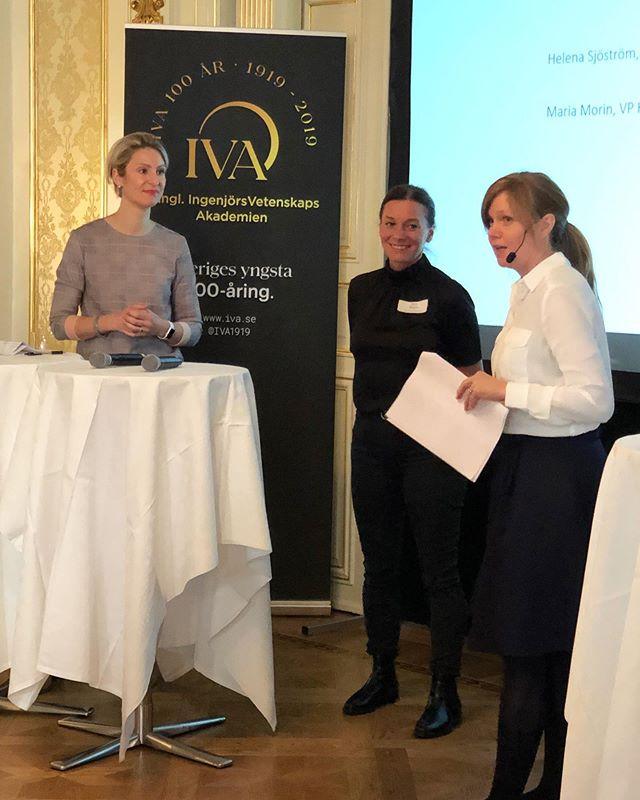 Idag är vår magiska Helena på IVA och delar med sig av hennes tankar och idéer om framtidens entreprenörskapsutbildningar 🌟