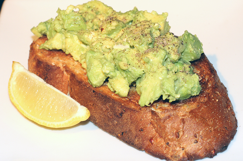 Avocado on Toast (Salmon Available)