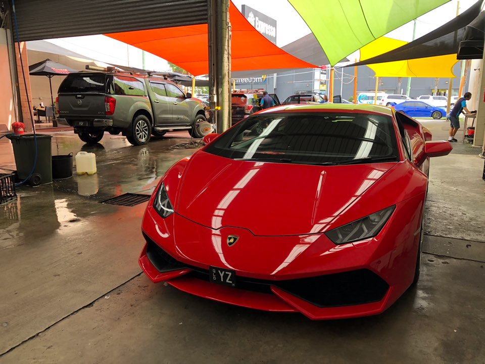 Lamborghini - King of Cars, washed at Expresso Car Wash