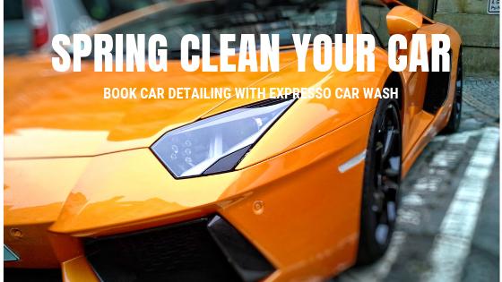 spring clean car wash detailing gold coast