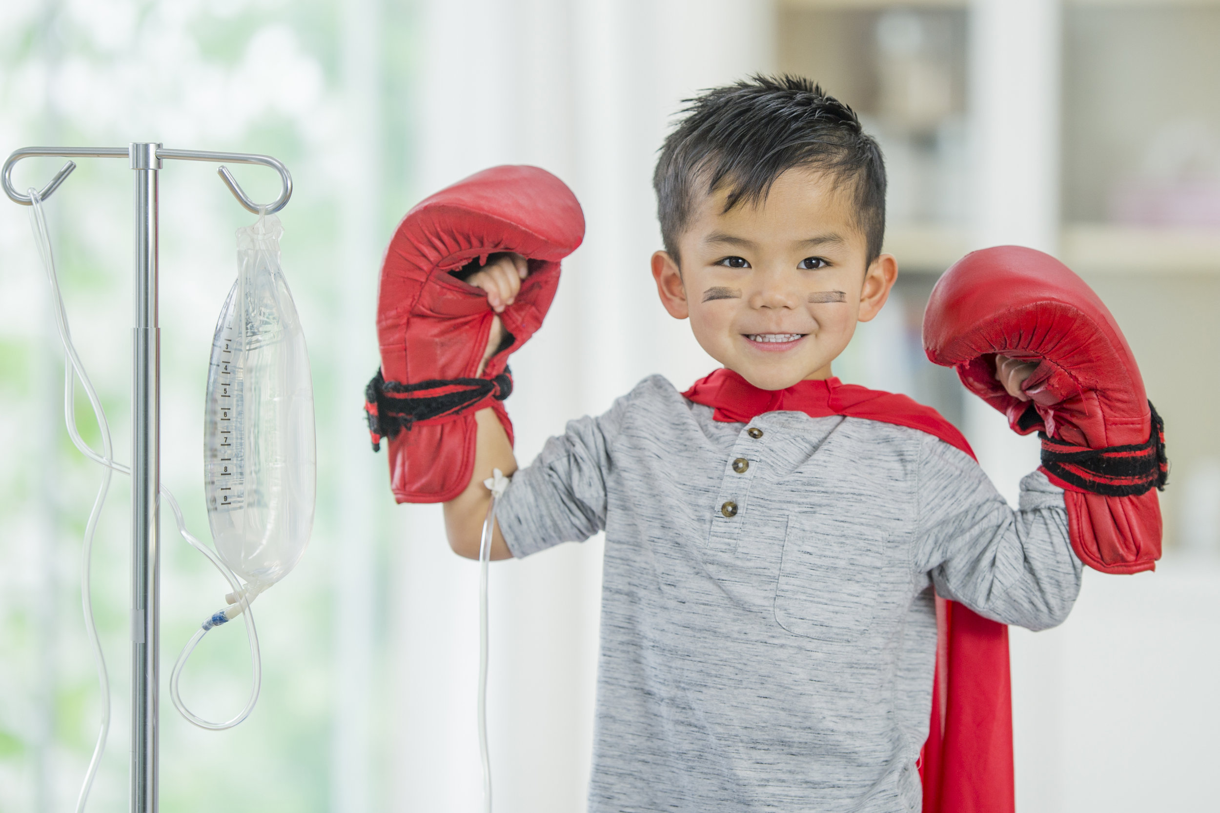 Together we will help children fight cancer.