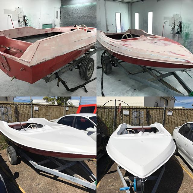 #The_Bumper_Doctor , not just car repairs . #boats , #motorcycles , #Kitchen #Cupboards. If it fits in my booth, I can paint it.