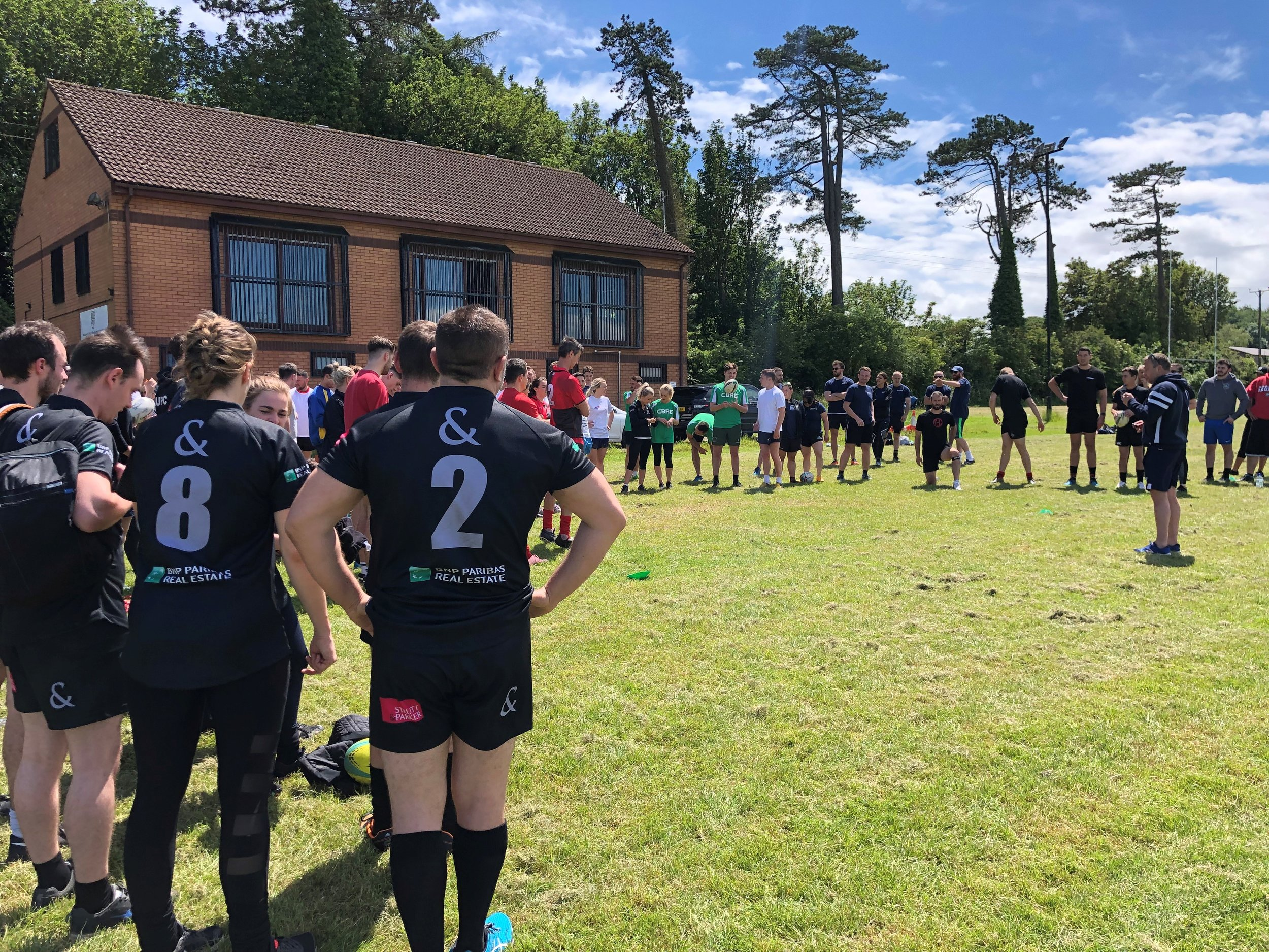Rics Touch Rugby 2019 Amarelle