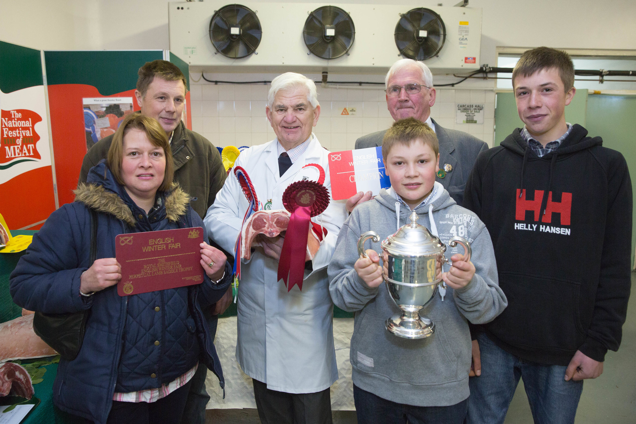 2017 EWF Champion Lamb Group Trophy Presentation