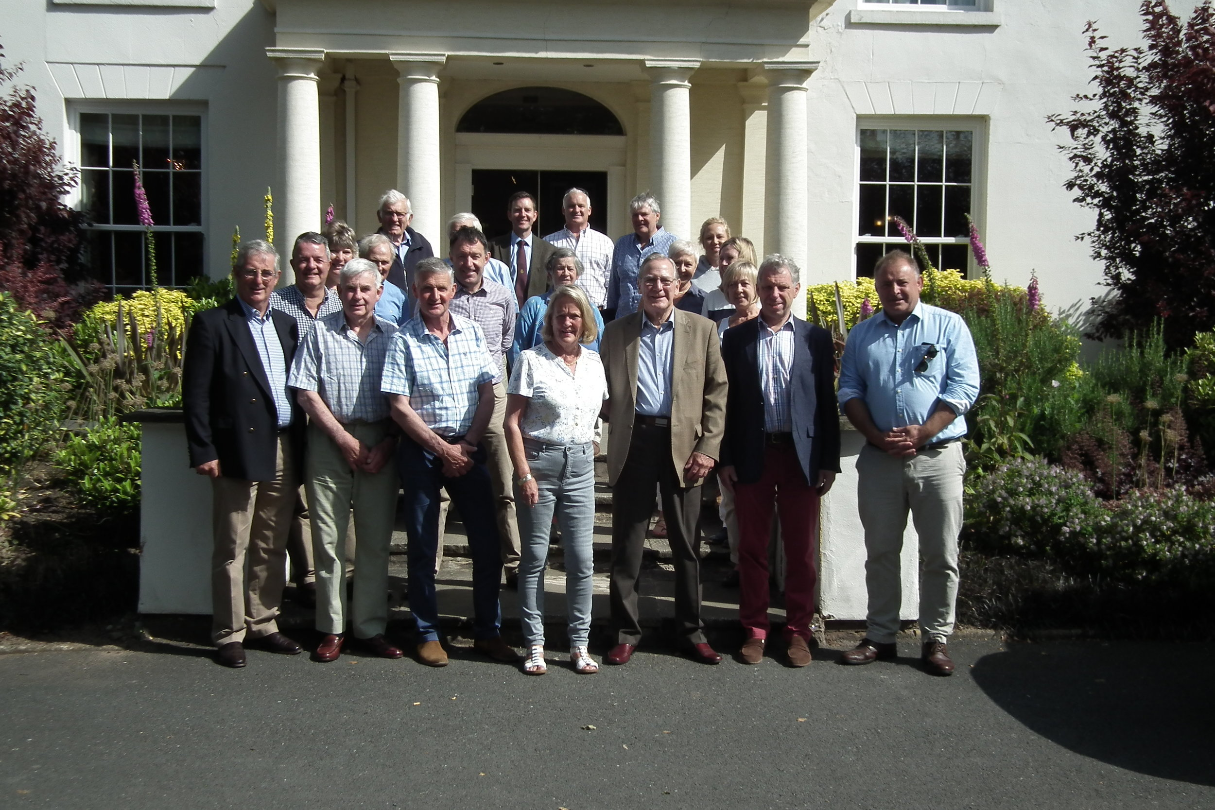 Members & Guests pictured at Fishmore Hall