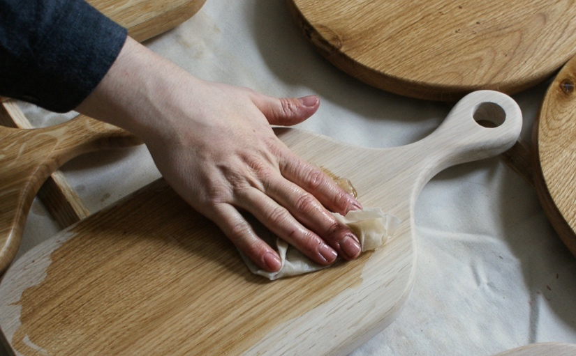 Oiling+our+English+Oak+boards