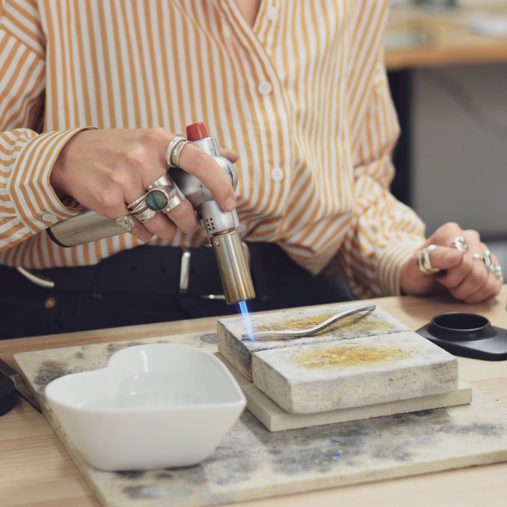 Silversmithing Social Meet-up - £10 -