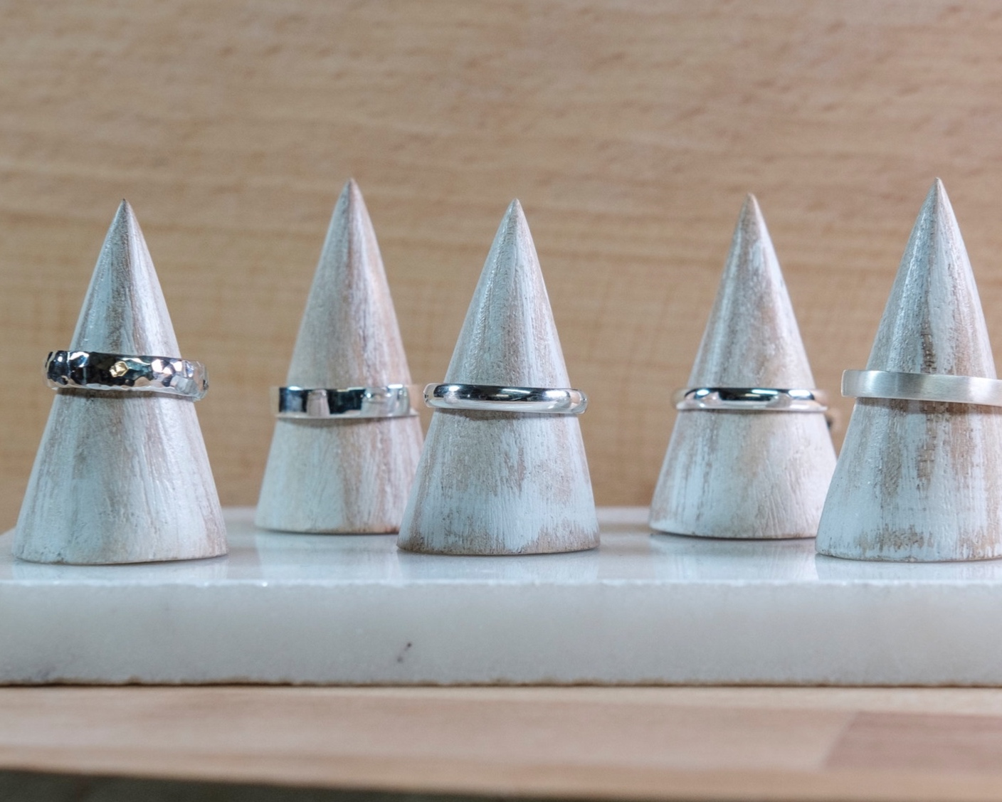 Week 1 - Make a simple silver ring - During your first session with us we will guide you into making your own perfect silver ring from start to finish! Even if you have taken our stacking ring workshop before you'll find this lesson to be a very informative and detailed experience learning all about the traditional methods, maths and science which goes into making your very own ring.
