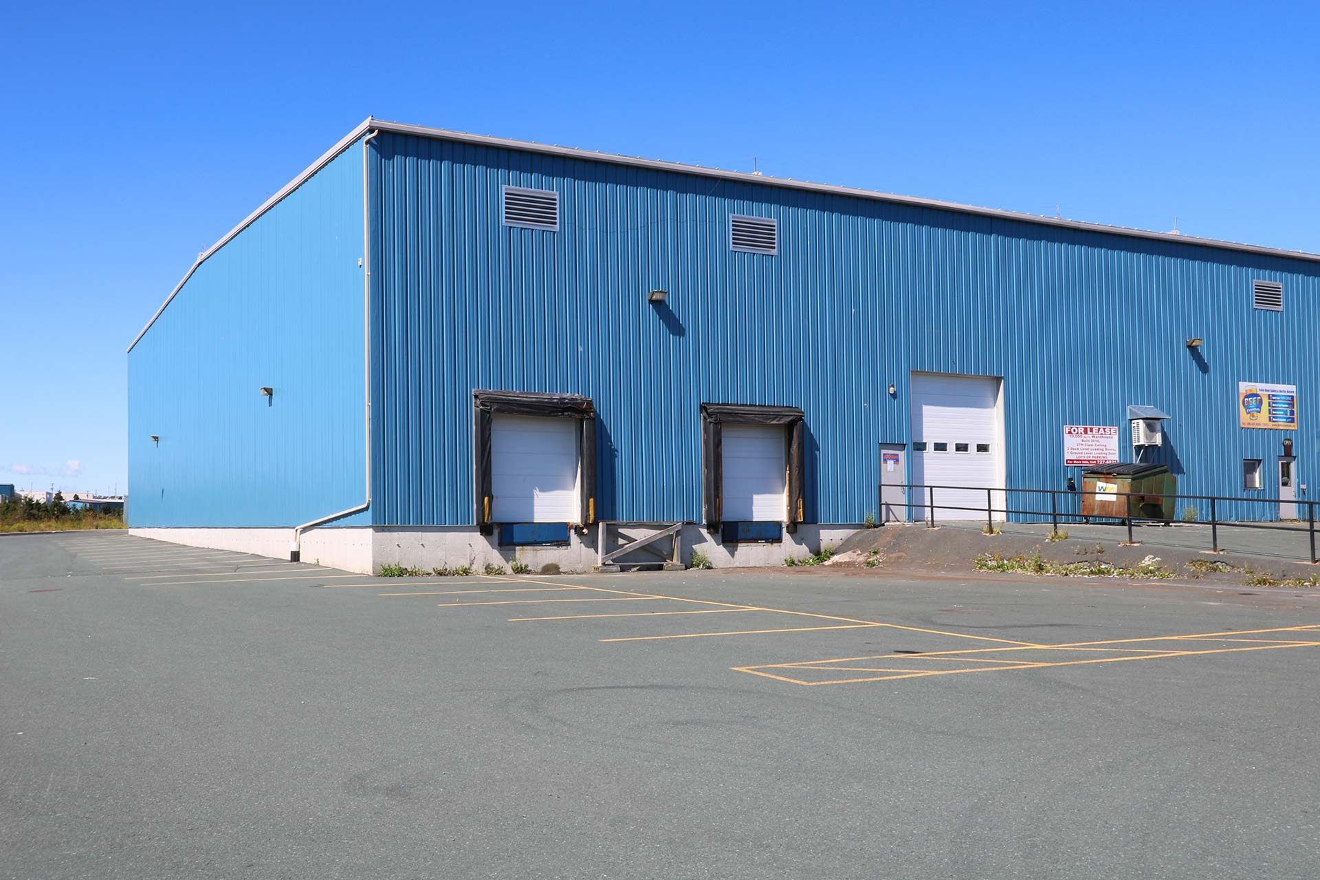$10.00 /sqft (L) - 8 Trout Place, Mount PearlMLS ® : 1196324FOR LEASE | 10000 SQ.FT.