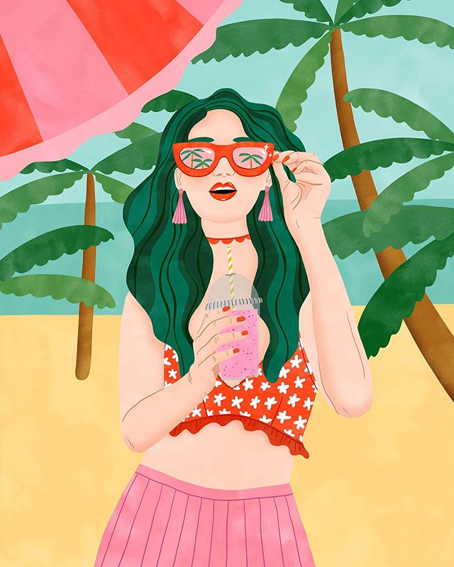 California Girl 💋👙🏝👄 for my collab with @revlon / @revlonprofessional 💇🏼♀️ Thanks to @planta16_agency and of course @folioart 🇺🇸