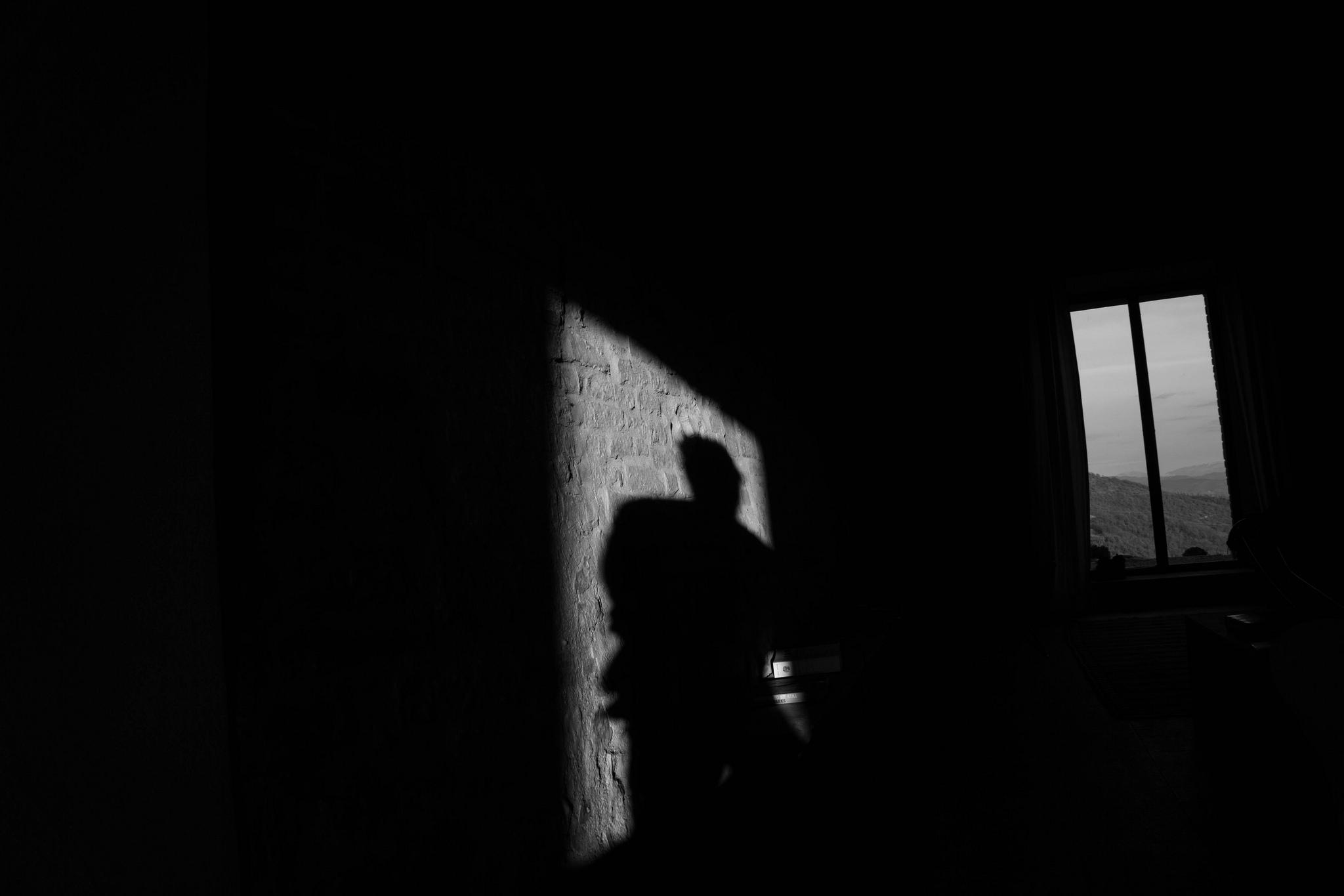 """""""Light in a Dark Room,"""" photo by  Alan Watson"""