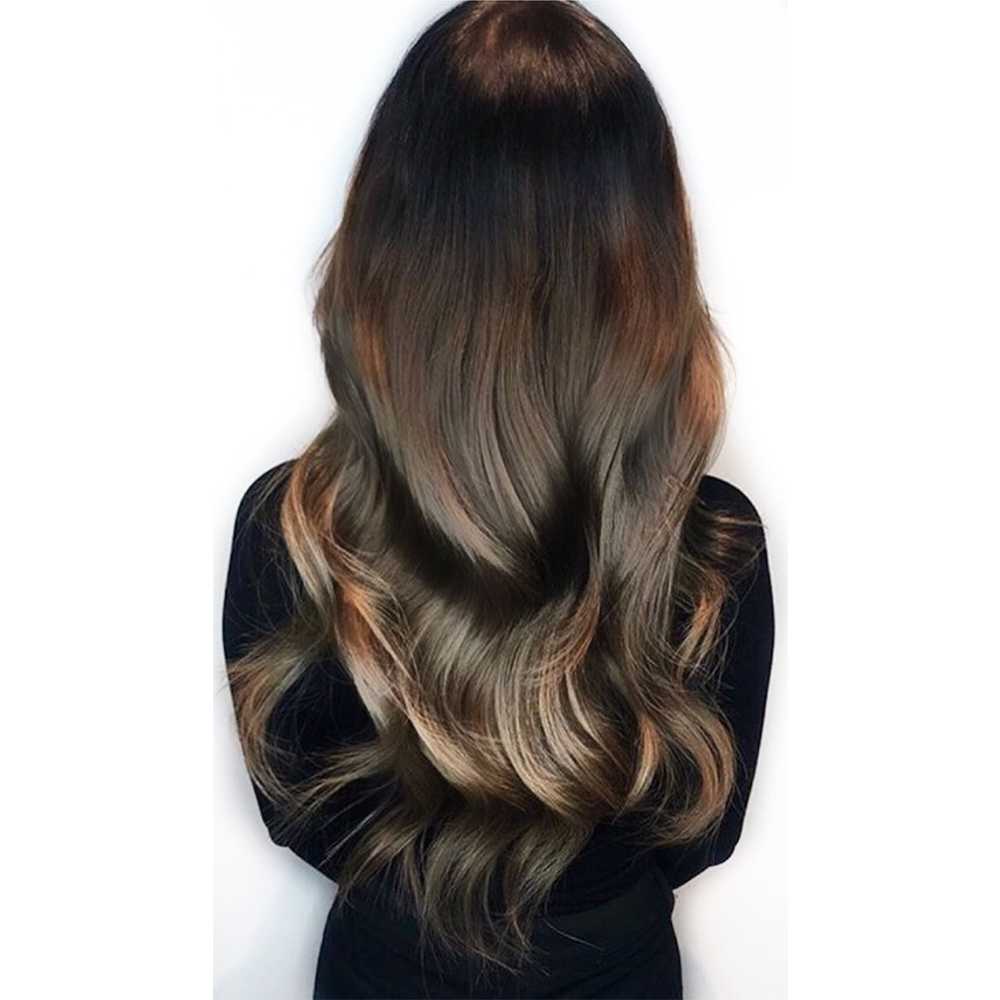 Tape in Balayage extensions London