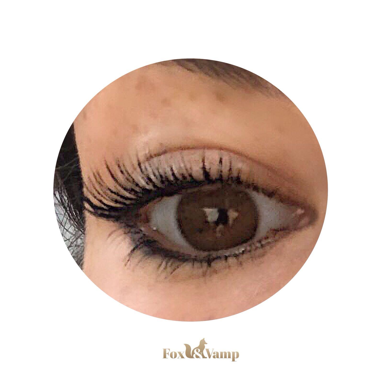 Cat Eyed Volume eyelash extensions