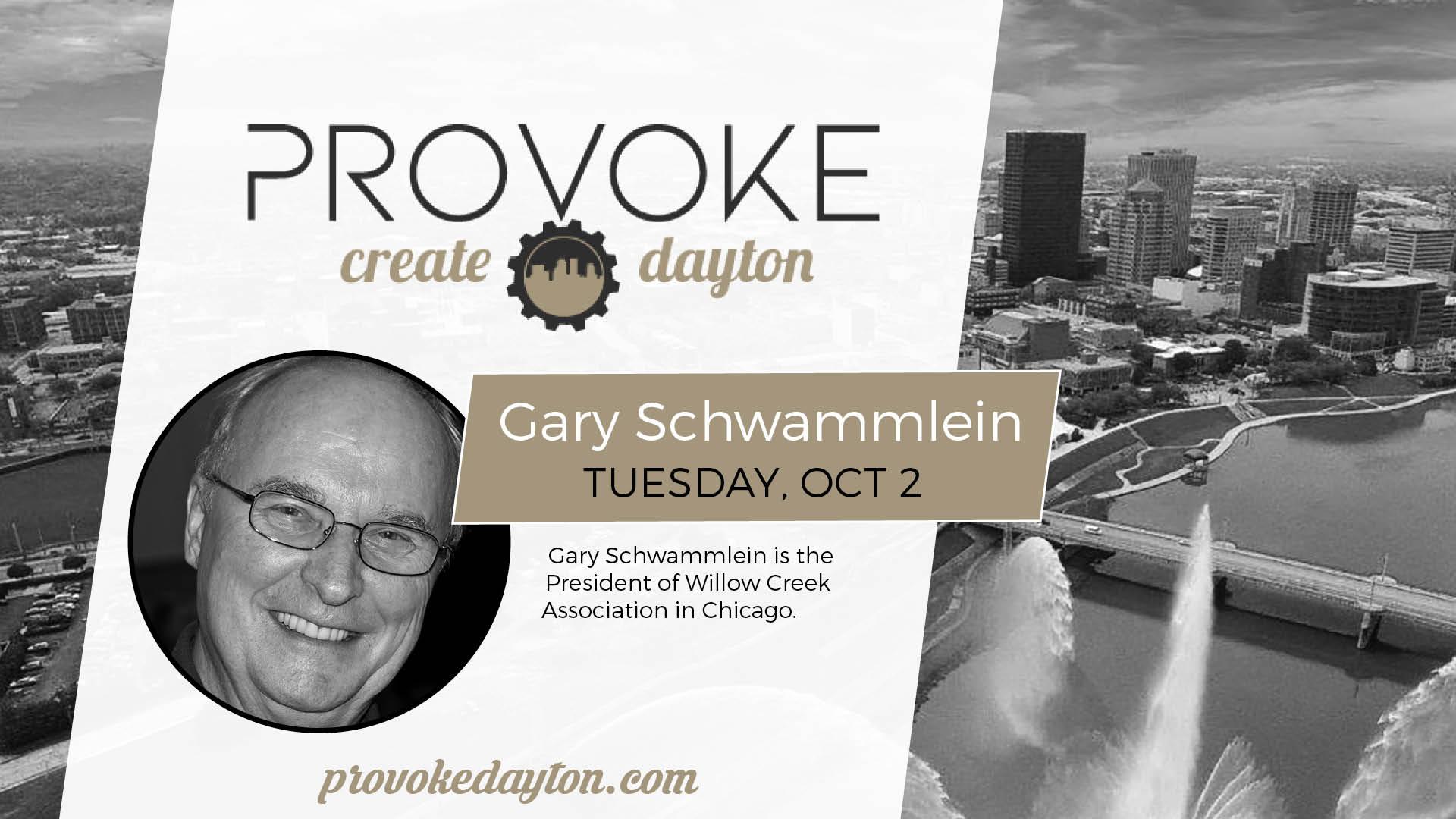 10/2/18 Gary Schwammlein