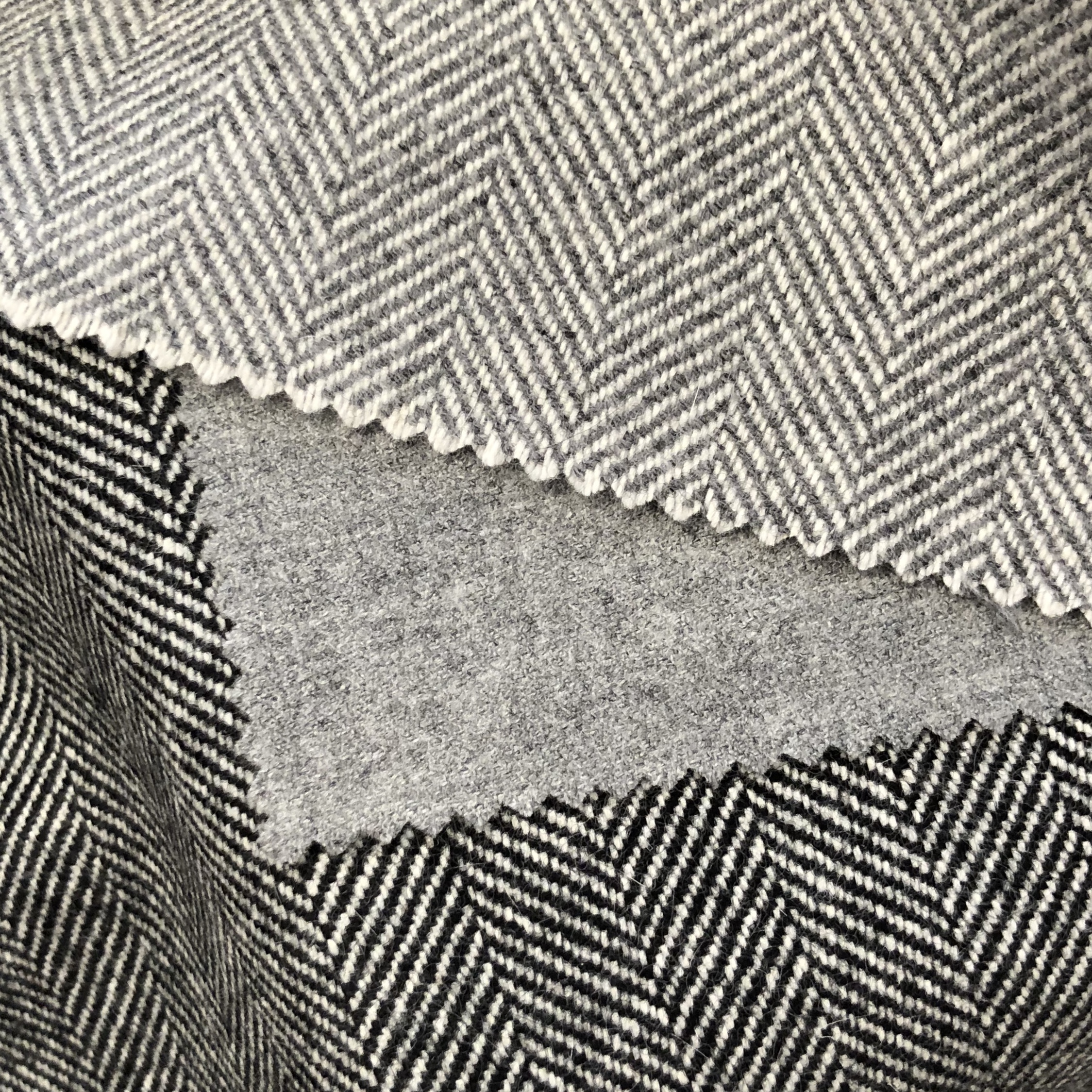 Herringbone as an option for separates -