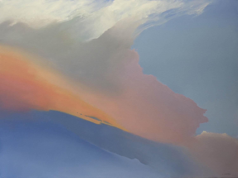 Gulfstream, 36 x 48, oil on canvas