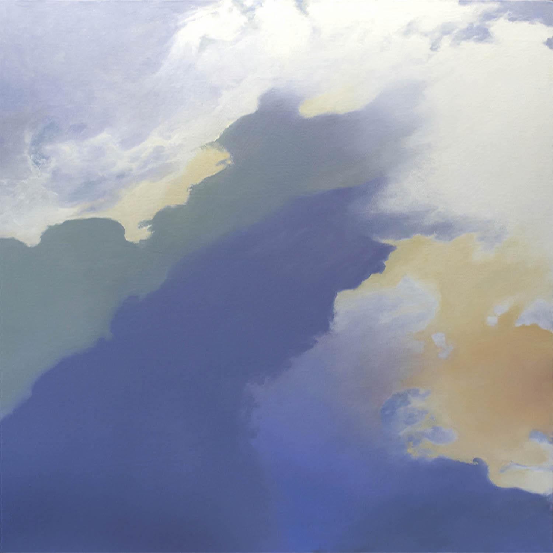 Race Over Taos, 36 x 36, oil on canvas