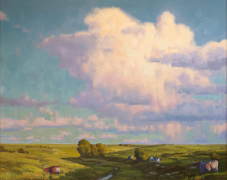 Open Range, 48 x 60, oil on canvas
