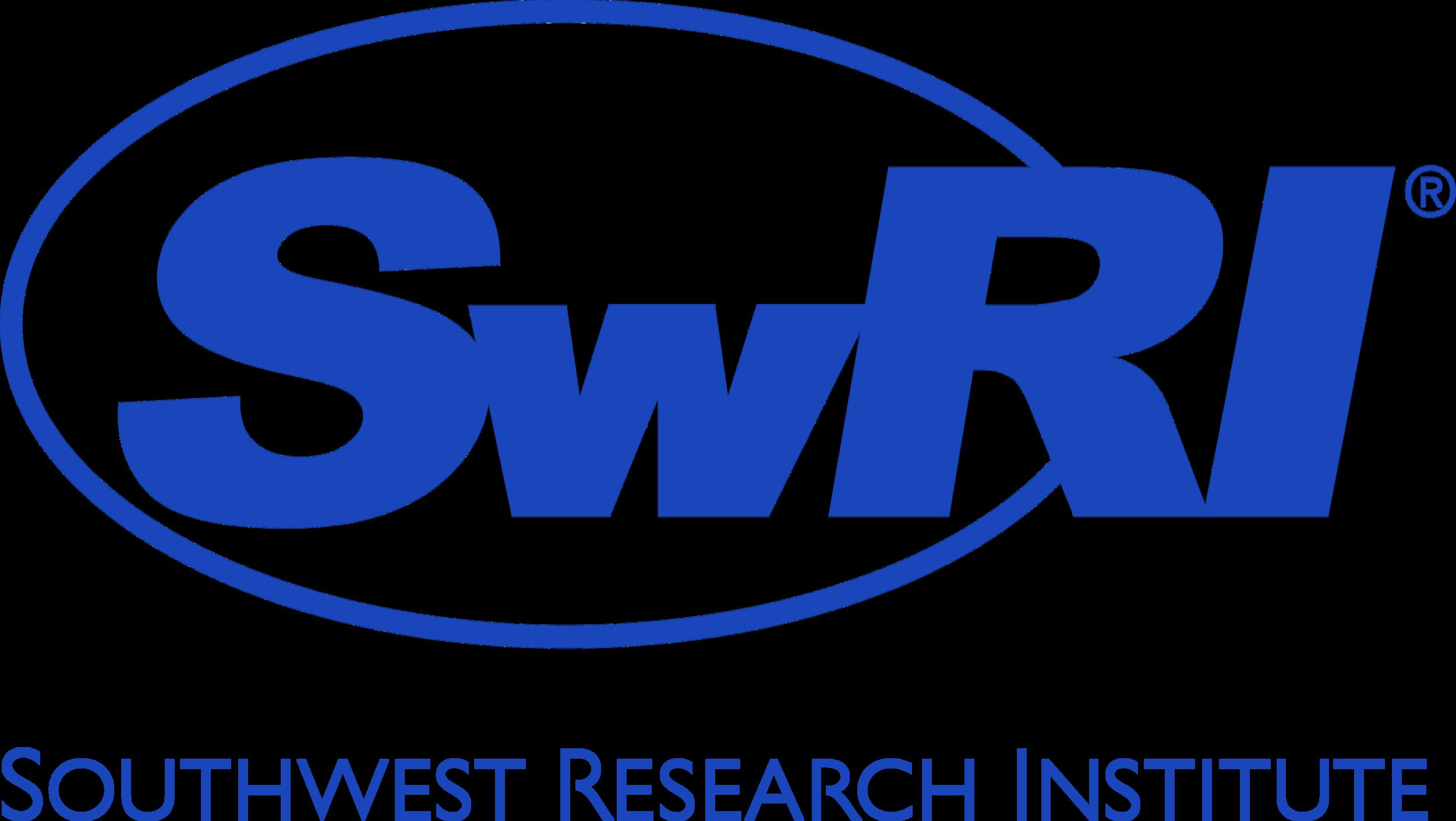 SwRI Logo Text Combo Vert 2014 Blue Pantone 2728.png
