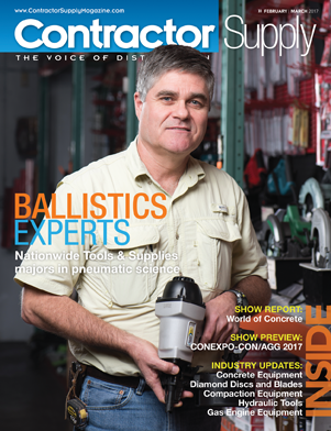 - The Nationwide team was interviewed by Contractor Supply's Tom Hammel for their February/March 2017 issue, covering our unique approach to pneumatic tool repair and fastener sourcing. Originally published Spring 2017.