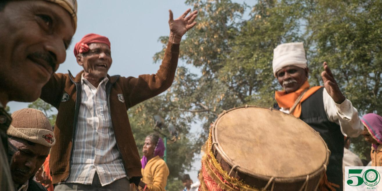 Photos from Seva Mandir's 50th Anniversary Celebration