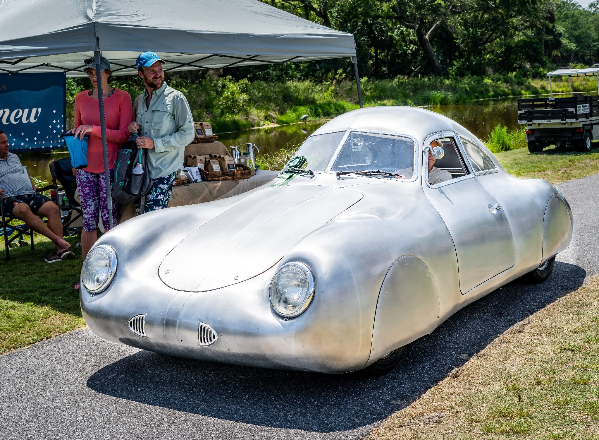 Chairman's Award Spirit of Speed - Dave Miller's 1939 Porsche Type 64