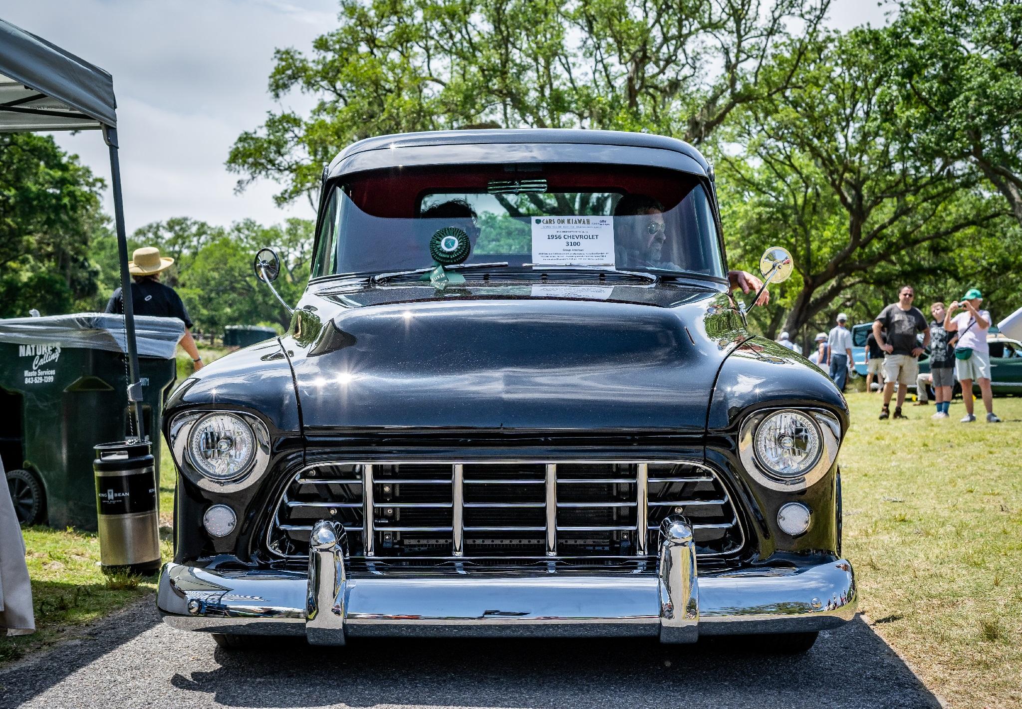 Class Award Hot Rods & Trucks - Eric Helfgott's '56 Chev. 3100