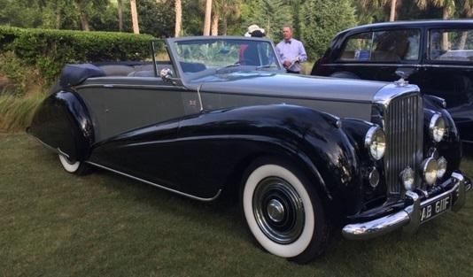 Mayor's Award Timeless Elegance - Ed Harley's 1952 Bentley Mk VI DHC