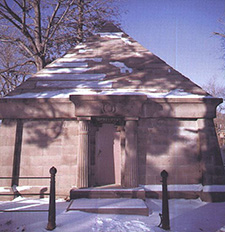ROBINSON MAUSOLEUM, OLD TOWN CEMETERY