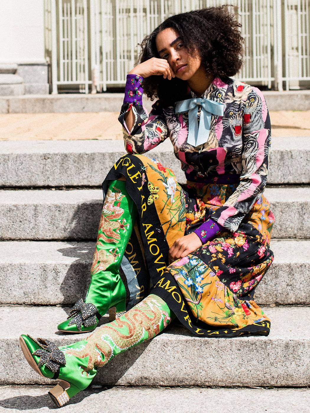 SPONSORED CONTENT CREATED WITH GUCCI:     Love Wearing Color? Here's How to Take It to the Next Level